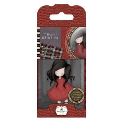 Collectable Rubber Stamp - Santoro - No. 18 Poppy Wood
