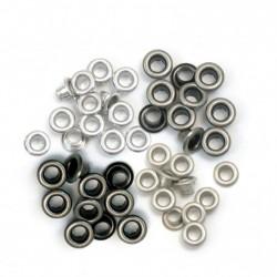 We R Memory Keepers • Standard Eyelet Cool Metal x 60