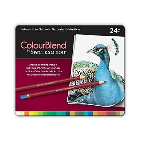 Matite Spectrum Noir Colourblend Pencils Primaries 24pz
