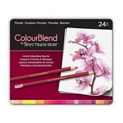 Matite Spectrum Noir Colourblend Pencils Florals 24pz