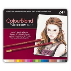 Matite Spectrum Noir Colourblend Pencils Florals 24pz