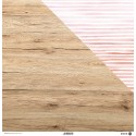 - WOODEN COLORS 04 - 1 Foglio Cartoncino Double Face MODASCRAP -30,5x30,5cm