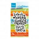 alphabet lower & numbers Marianne Design  - Alfabeto Minuscolo col1453
