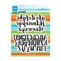 Alfabeto Maiuscolo e minuscolo brush alphabet Marianne Design CR1416