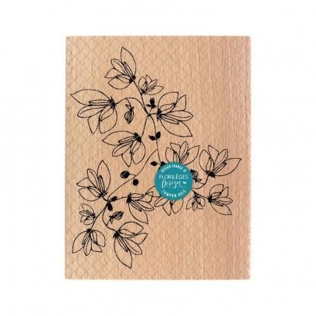 Timbro di legno Florileges Design - POÉSIE NATURELLE