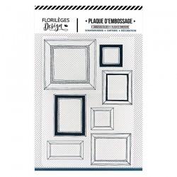 Embossing Folder Florilege Design - MUR DE CADRES