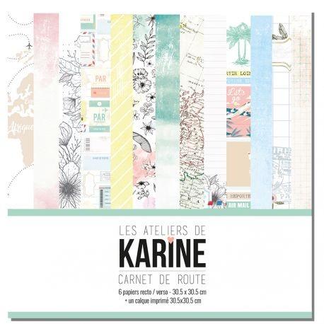 Carnet de Route collection - Les Ateliers de Karine