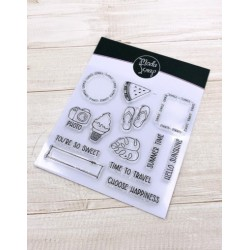 CLEAR STAMPS MODASCRAP - POSTAGE SUMMER