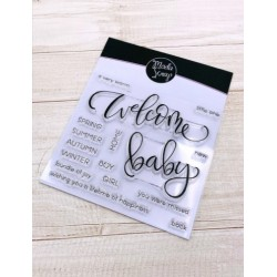 CLEAR STAMPS MODASCRAP - WELCOME