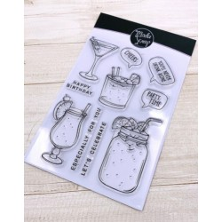 CLEAR STAMPS MODASCRAP - PARTY TIME