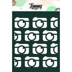 Stencil Tommy Design A6 - Macchine fotografiche