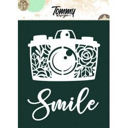 Maschera Tommy Design A5  - Macchina Fotografica con Fiori