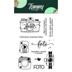 Clear Stamp Tommy Design - Foto