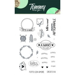 Clear Stamp Tommy Design - Fatto a Mano