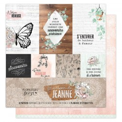Kit Carte Florileges Design La maison de Jeanne