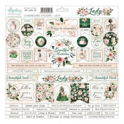 Chipboard stickers  Suntastic
