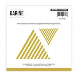 Set Fustelle Les Atelier de Karine - Triangle Graphiques