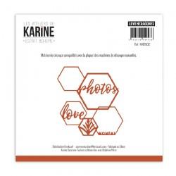 Set Fustelle Les Atelier de Karine - Cercles a broder