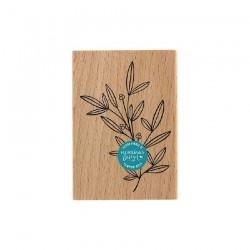 Timbro di legno Florileges Design - Doux Feuillage