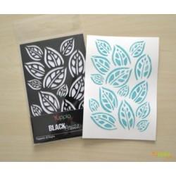 Stencil Yupplacraft - Tappeto di foglie