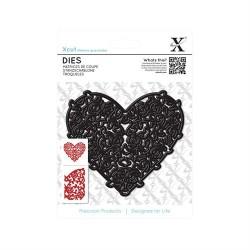 Die - Floral Filigree Heart