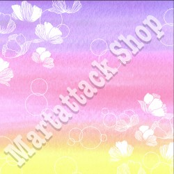 1 Foglio carta Martattack Shop - Fiori & Colori-07 30,5x30,5cm 190gr