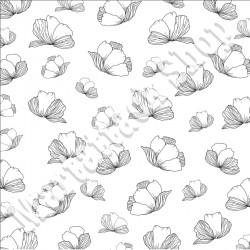 1 Foglio carta Martattack Shop - Fiori & Colori-Vellum 30,5x30,5cm 110gr