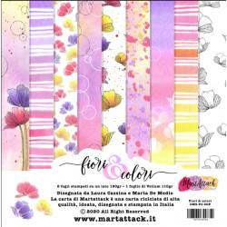 Pad di Carte Martattack Shop - Fiori & Colori 15x15cm