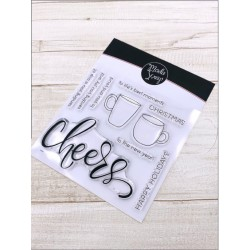 CLEAR STAMPS MODASCRAP- CHEERS