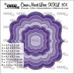 Crealies Crea-nest-dies XXL no. 100