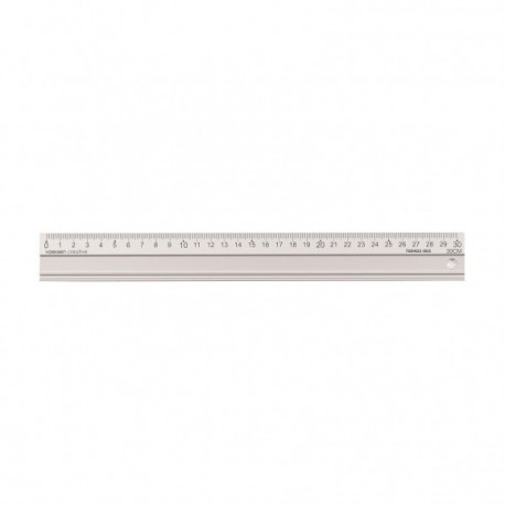 Righello Alluminio 30 cm -Aluminium cutting ruler