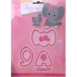 Marianne Design Collectables Eline's elephant