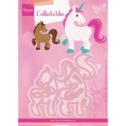 Marianne Design Collectables Eline's horse & unicorn