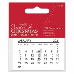 Calendari 2021 Calendar Tabs