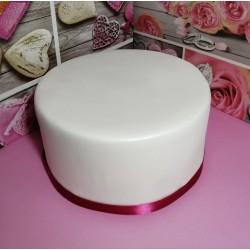 VIDEO CORSO base rivestimento torta polistirolo gomma eva effetto pasta di zucchero