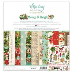 "Paper pack Merry & Bright  30x30 cm (12""x12"")"