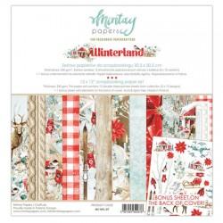 "Paper pack Winterland  30x30 cm (12""x12"")"