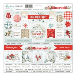 Chipboard stickers  Merry & Bright