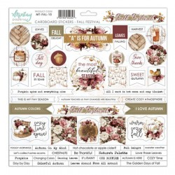Chipboard Stickers Winterland