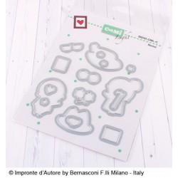 Set Fustelle Impronte D'autore Nonni