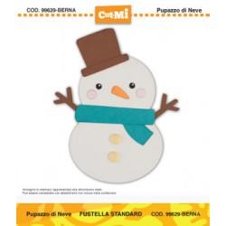 Fustella Cut-Mi Impronte D'autore Pupazzo di neve
