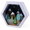 Sizzix Thinlits  Box Winter Scene 664582