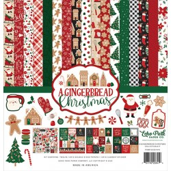 "Echo Park A Gingerbread Christmas 12x12"" Collection Kit"