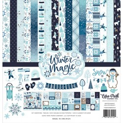 "Echo Park Winter Magic 12x12"" Collection Kit"
