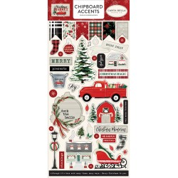 Carta bella Christmas Market Chipboard accents