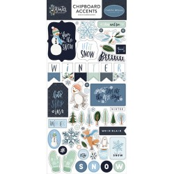 Carta bella Winter Market Chipboard accents