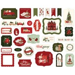 Carta Bella Hello Christmast Ephemera