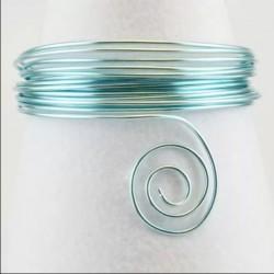 Filo di Alluminio 1,5mm x5mt Ice blue - Aluminium Wire Celeste