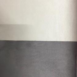 Tessuto Similpelle vellutato Termomodellabile 50x70cm bifacciale talpa/crema