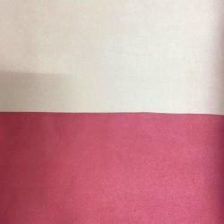 Tessuto Similpelle vellutato Termomodellabile 50x70cm bifacciale rosa chiaro/scuro